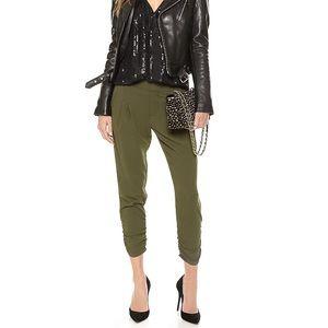 Parker Olive Green Devlin Dress Pants